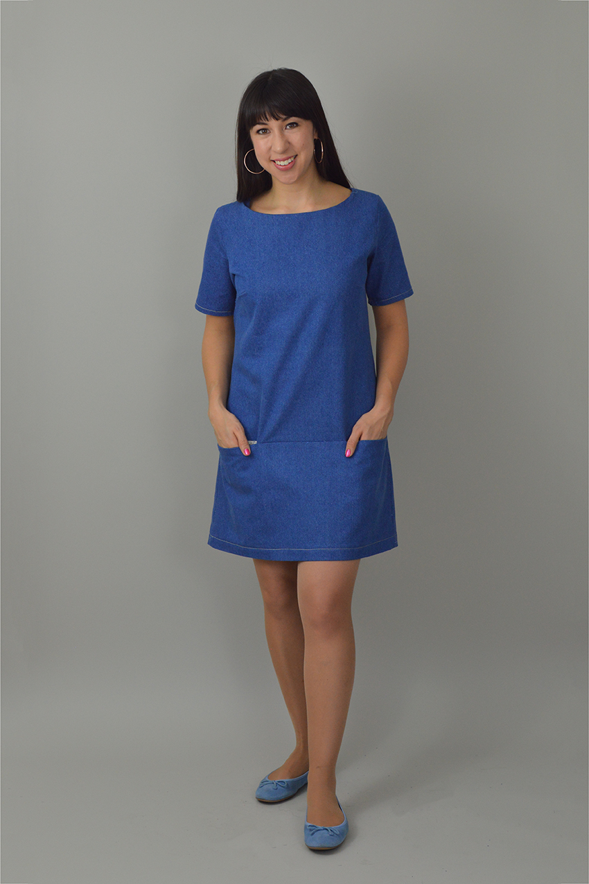 Nina Lee Carnaby Dress denim
