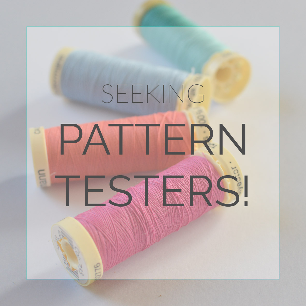 Pattern Testers Required!