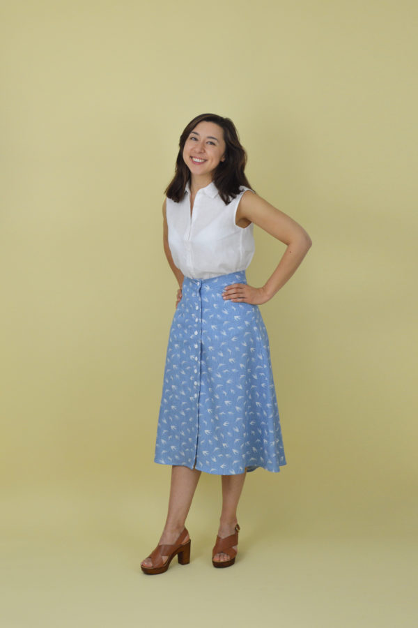 Kew skirt pattern