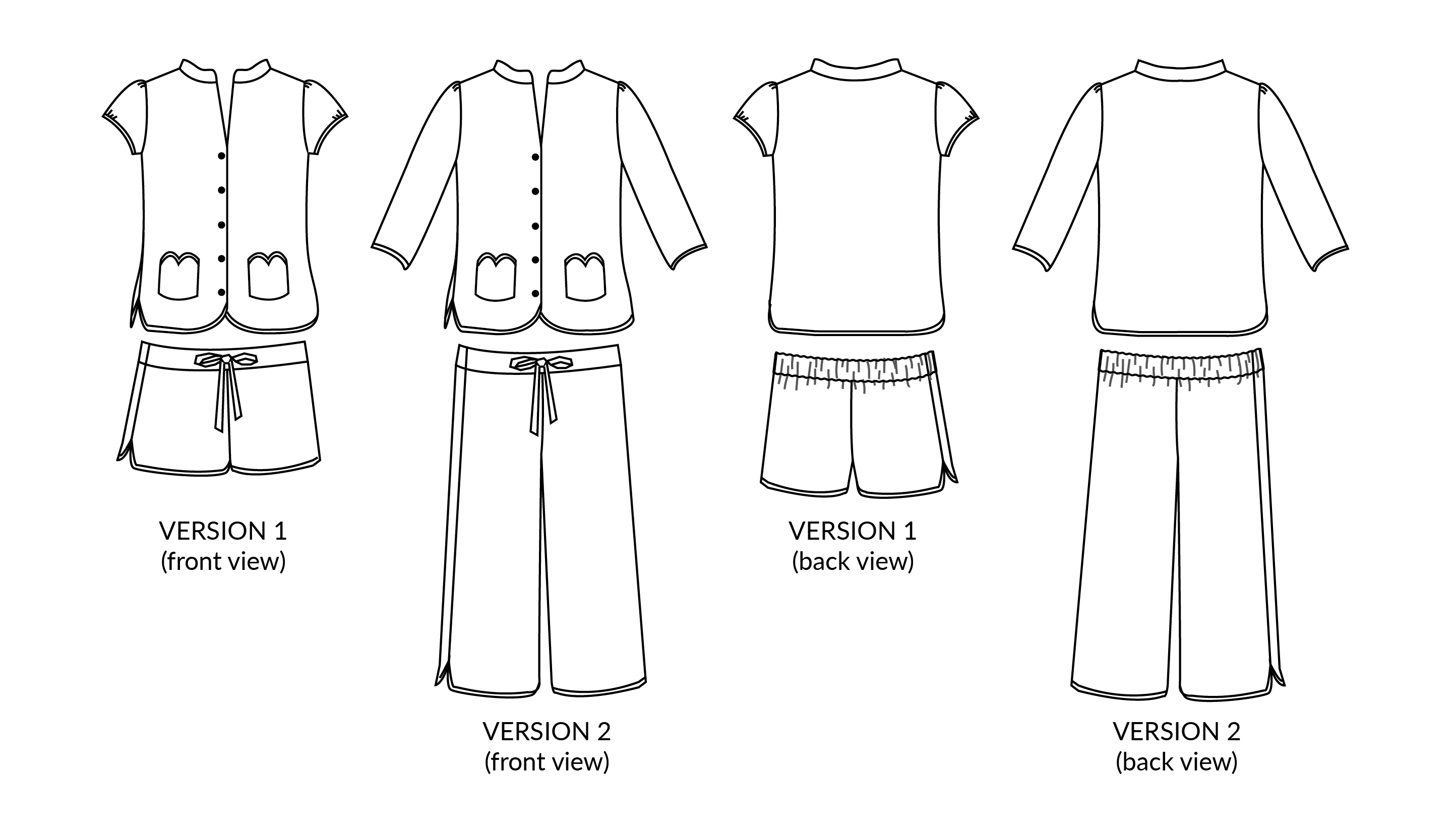 Pattern testers needed for the Piccadilly Pyjamas!