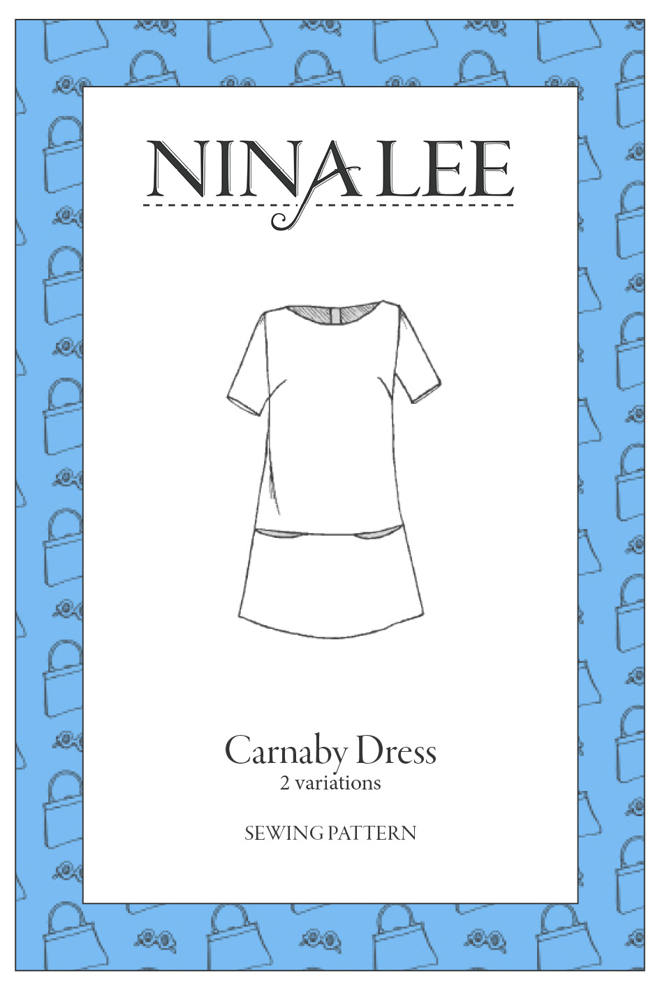 Carnaby – Printed sewing pattern (sizes 6–20)