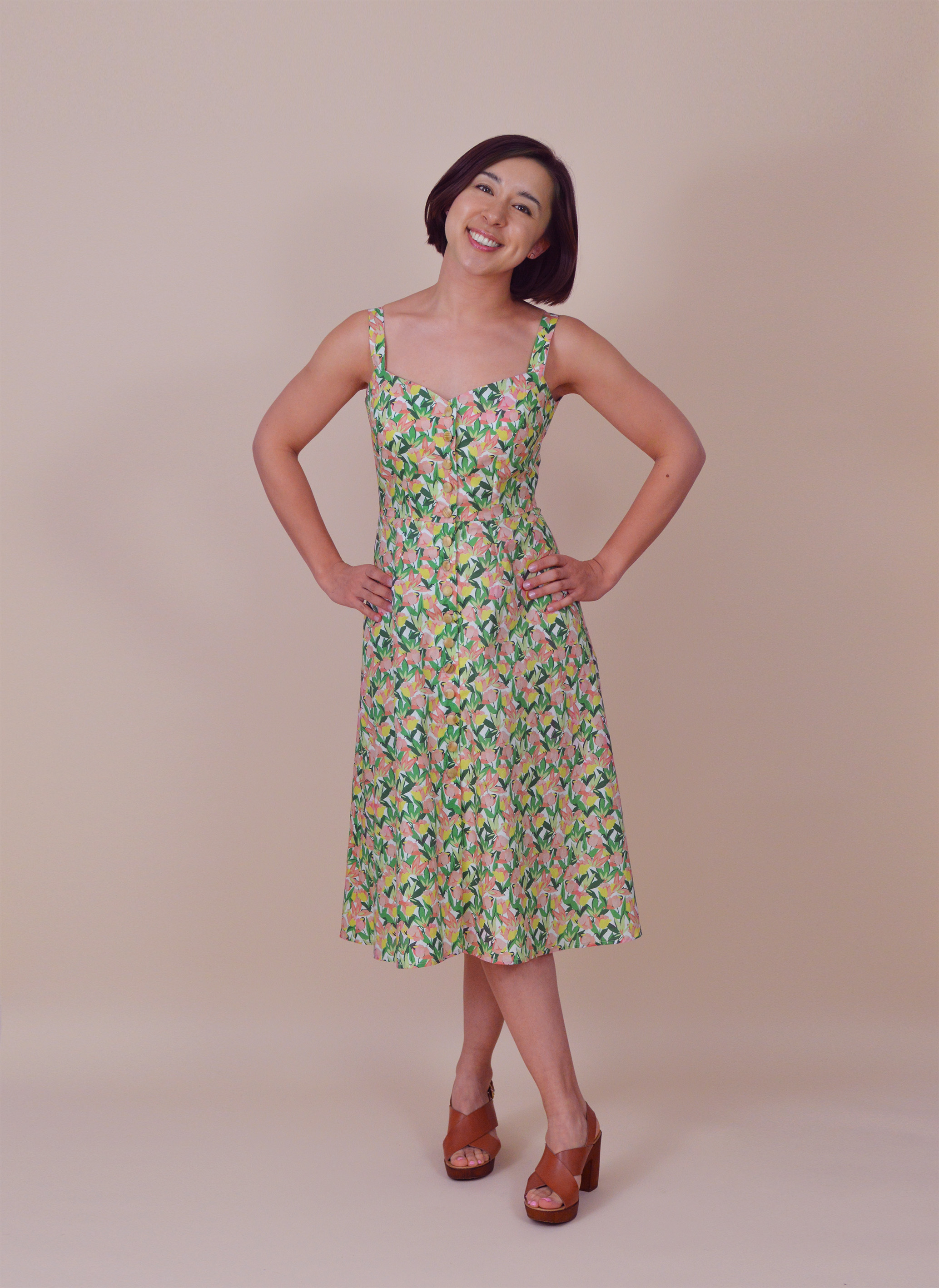 Kew Dress Pdf Sewing Pattern