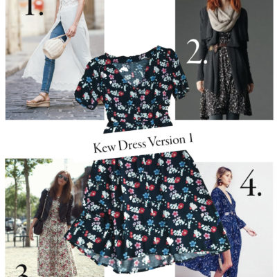 Kew Dress: Styled Four Ways