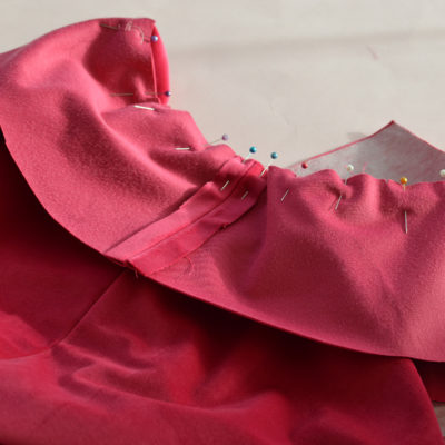 The Richmond Sew-Along: the Under Collar, and attaching the Facings to the Jacket